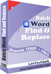 Batch Word Find and Replace