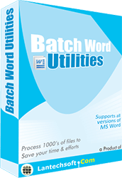 Batch Word Utilities