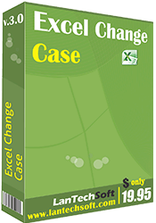 Excel Change Case full screenshot