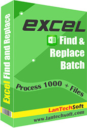 Excel Find and Replace