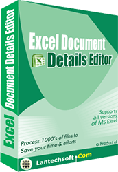 Excel Document Details Editor