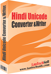 Hindi Unicode Converter and Writer