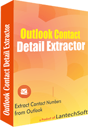 Outlook Contact Detail Extractor