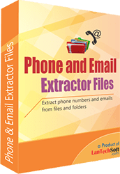 Phone and Email Extractor Files