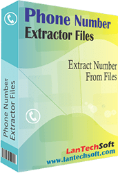 Click to view Phone Number Extractor Files 3.6 screenshot