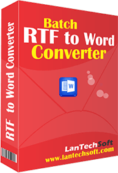 Batch RTF to Word Converter