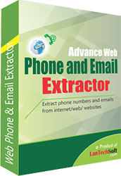 Advance Web Phone and Email Extractor