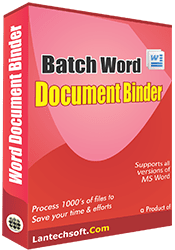 Batch Word Document Binder