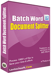 Batch Word Document Splitter