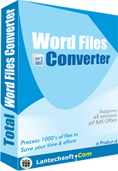 Total Word Files Converter
