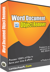 Word Document Object Remover