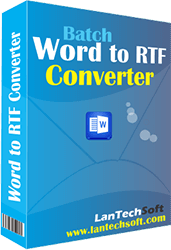 Batch Word to RTF Converter