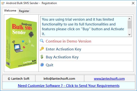 Android Bulk SMS Sender
